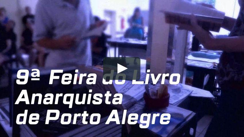 9ª Feira do Livro Anarquista de Porto Alegre