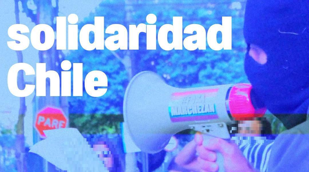 Solidariedade com Chile